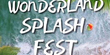 Wonderland Splash Fest tickets