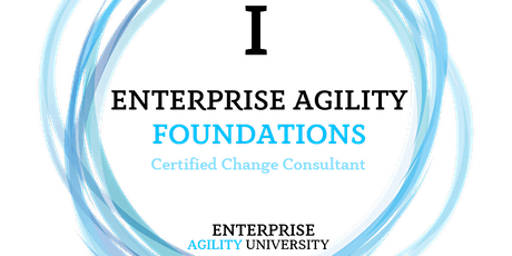 Enterprise Agility (I) Foundations Certified Change Consultant tickets