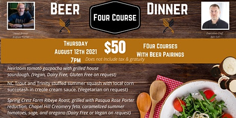 Vecino Brewing Summer Beer Dinner tickets