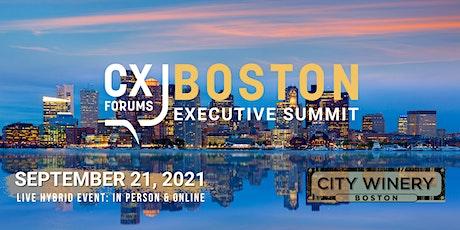 CX Forums Boston Executive Summit tickets