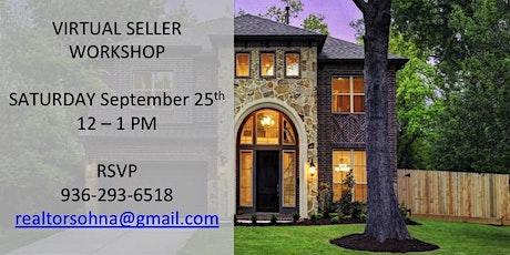 9/25 Virtual Home Seller Workshop tickets