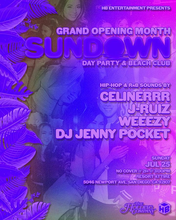 SUNDOWN - Sunday Day Party & Beach Club image