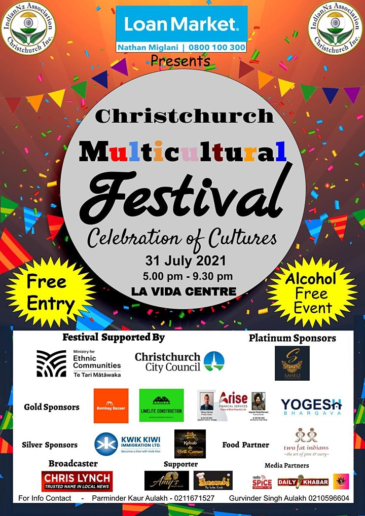 Christchurch Multicultural Festival - Celebration of Cultures image