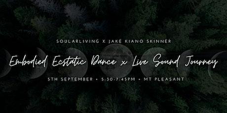 Ecstatic Dance x  Live Sound Journey tickets