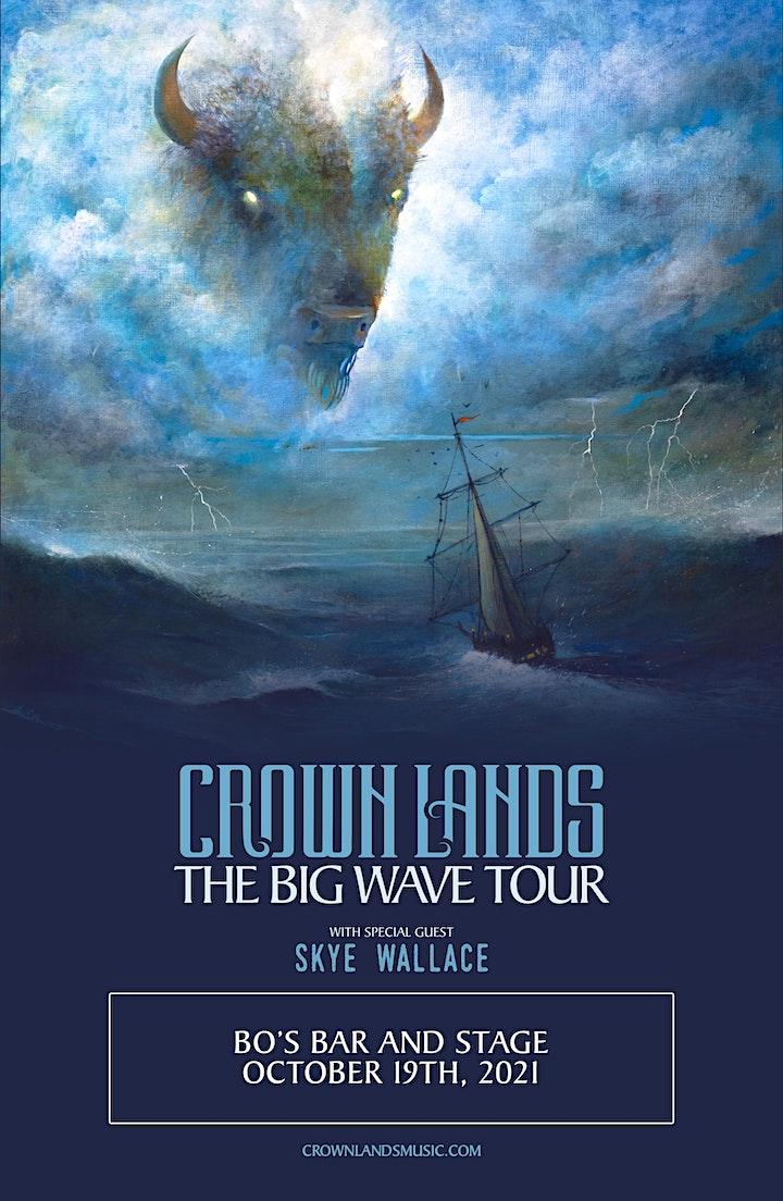 CROWN LANDS--THE BIG WAVE TOUR image
