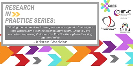 Research In Practice Series: Kristen Sheridan tickets