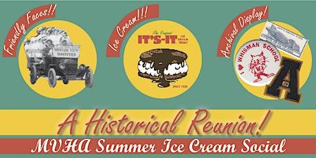 MVHA Summer Ice Cream Social tickets