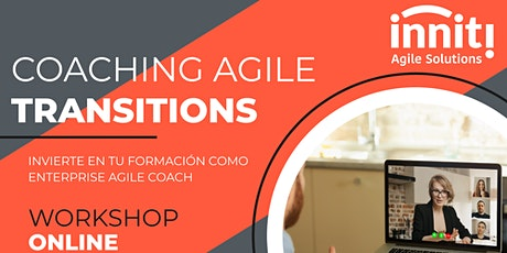 Coaching Agile Transitions with LCM (ICP-CAT) Remote bilhetes