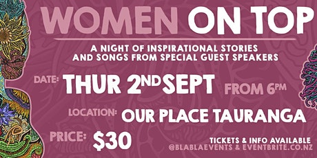 Women on Top - Inspirational Speakers Event tickets