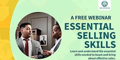 Free Webinar On Essential Selling Skills tickets