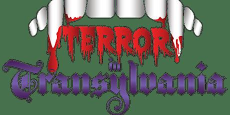 Terror in Transylvania - Murder Mystery tickets