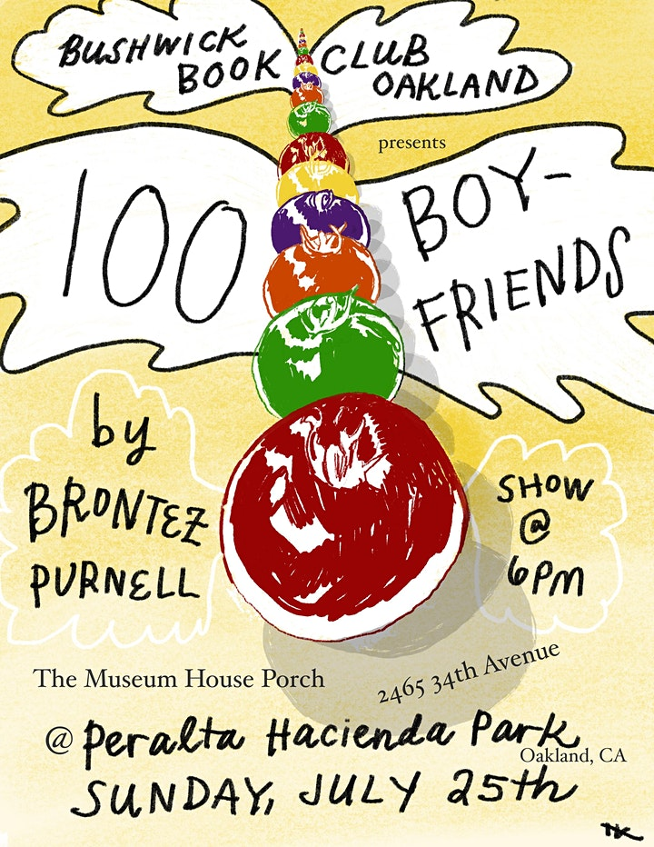 Bushwick Book Club Oakland Presents: 100 Boyfriends by Brontez Purnell image