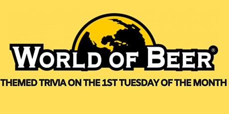 MONTHLY TRIVIA at WORLD OF BEER - Epicenter tickets