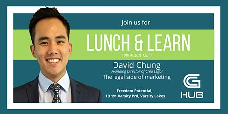 LUNCH AND LEARN with DAVID CHUNG tickets
