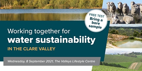 Water sustainability in the Clare Valley tickets