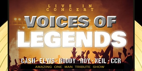 Voices of Legends tribute show WESTLOCK AB tickets