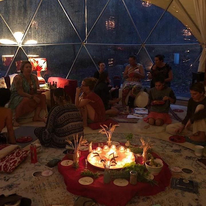 Imbolc Women's Circle in the Moon Lodge image