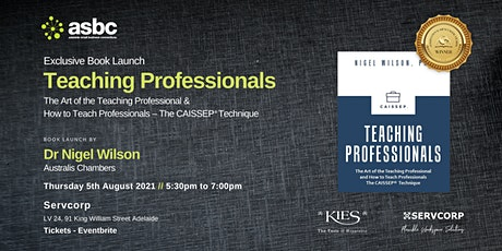 Book Launch: Teaching Professionals - The Art of the Teaching Professional tickets