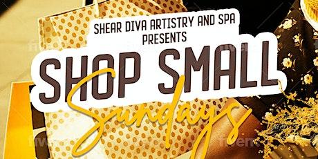 SHOP SMALL SUNDAYS ! tickets