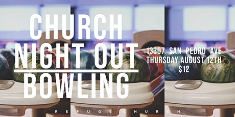 Refuge Church Night Out tickets