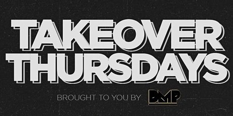 Takeover Thursdays @ The Valencia Room - 08/05/2021 tickets