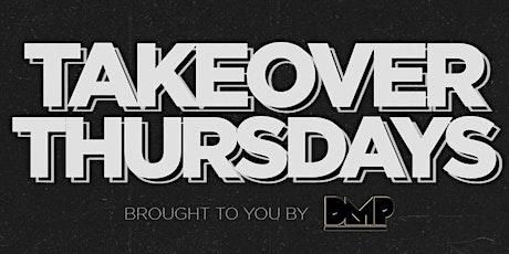 Takeover Thursdays @ The Valencia Room - 08/12/2021 tickets