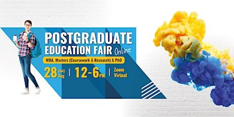 Postgraduate Virtual Education Fair tickets