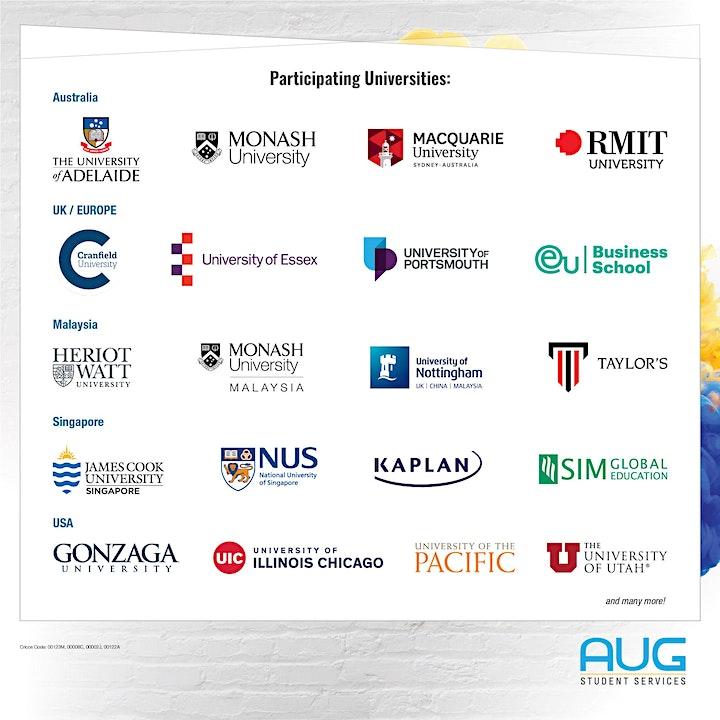 Postgraduate Virtual Education Fair image