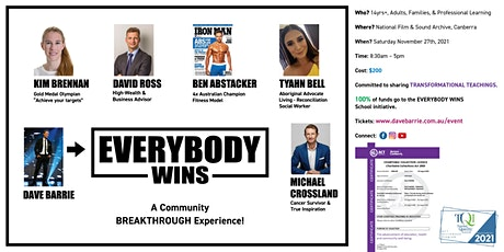 EVERYBODY WINS - Community Breakthrough Experience! tickets