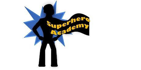 Superhero Academy tickets