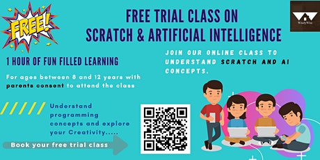 Free Trial Class on Scratch and Artificial Intelligence - Boston tickets