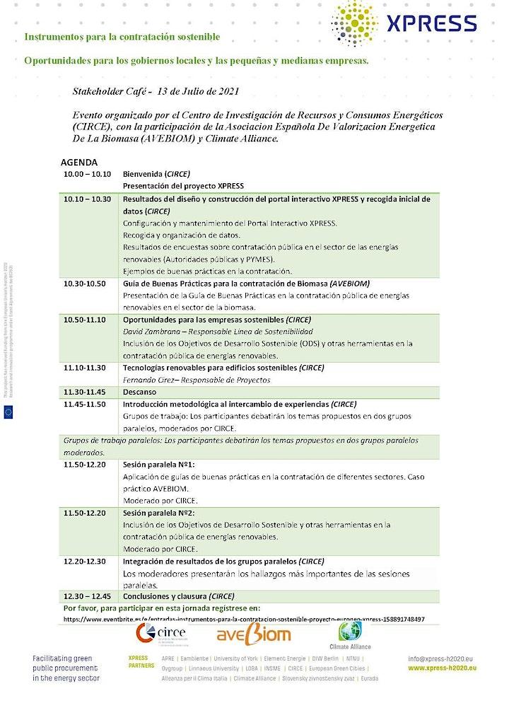 Imagen de Instrumentos para la contratación sostenible - Proyecto Europeo XPRESS