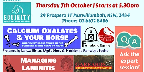 Equine Health & Nutrition for the Northern Rivers tickets