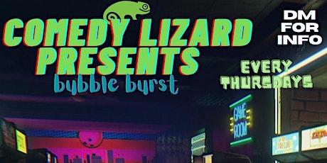 Comedy Lizard Presents : Bubble Pop tickets