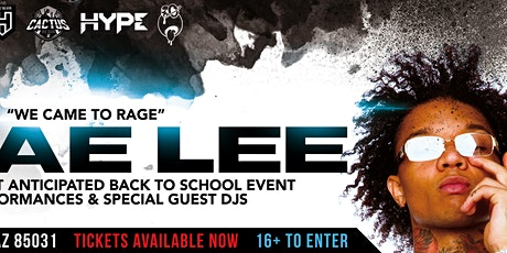 Arizona's Back To School Event ft Swae Lee & More tickets