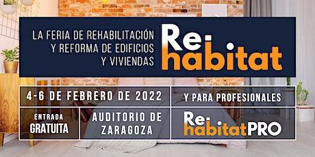Re-habitat. Feria de rehabilitación y reforma de edificios y viviendas entradas