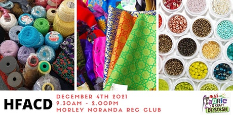 Hills Fabric and Craft De-Stash 4th December tickets