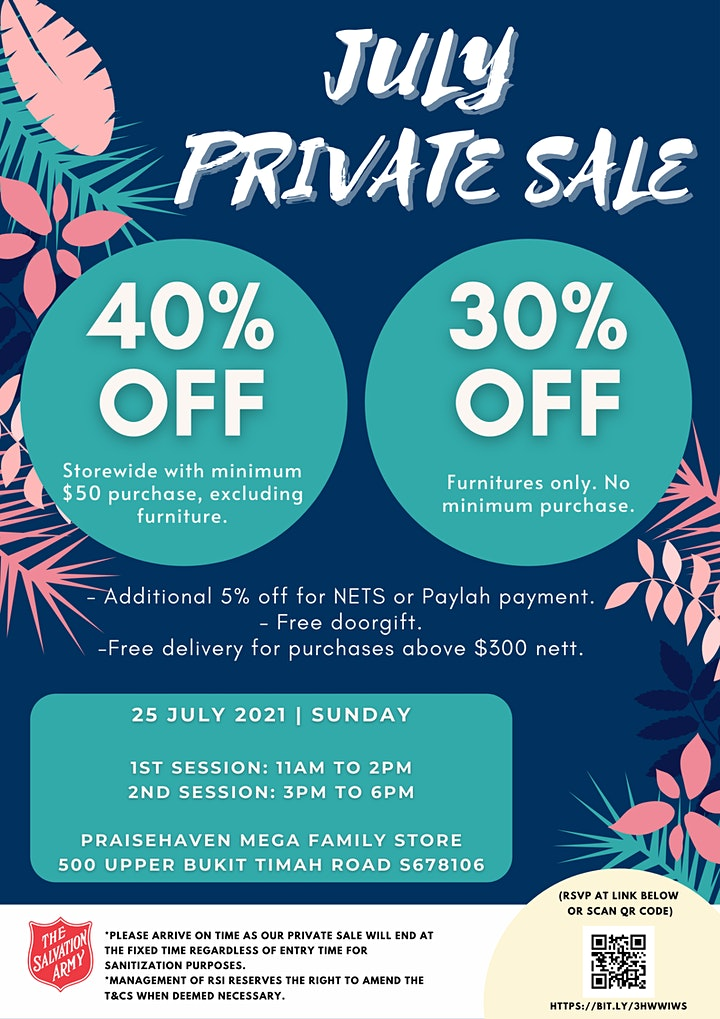July Private Sale (2nd Session) image
