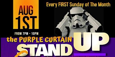 The Purple Curtain Comedy Club tickets