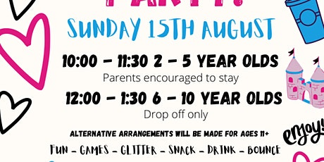 Summer Party 6-10 year olds tickets