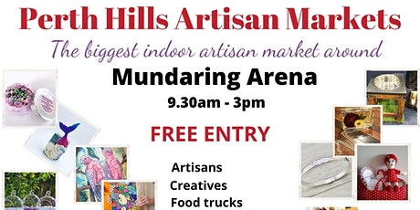 Perth Hills Artisan Market 2021 tickets