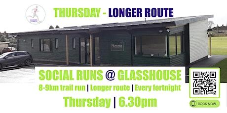 THURSDAY Longer Social Run @ Glasshouse - 2nd September 2021 - 6.30pm tickets