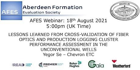 AFES August Talk: Cross-Validation of Fiber Optics and PLT tickets