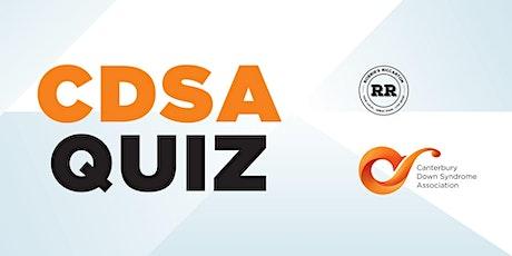 CDSA Quiz tickets