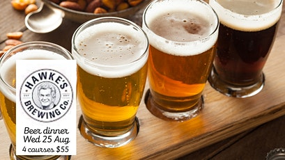 Hawke's Brewing Co. Beer Dinner tickets