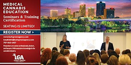 Arizona Medical  and Adult Marijuana Dispensary Training  Live Webinar tickets