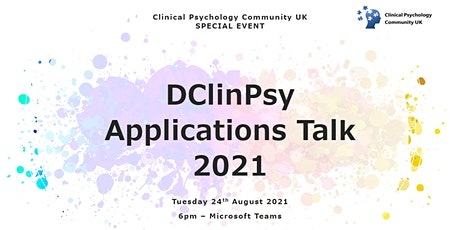 DClinPsy Applications Talk 2021 tickets