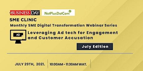 Businessday & NetPlusDotCom: Monthly SME Digital Transformation Webinar billets