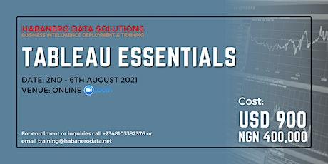 Tableau Essentials - Data Visualisation Training Using Tableau tickets