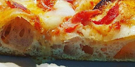 Corso pizza in teglia romana, corso di pinsa romana con cottura in teglia c biglietti